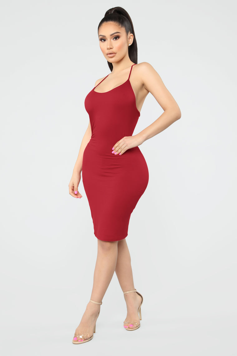 Laurie Mini Dress - Red