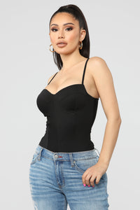 Came For More Bodysuit - Black