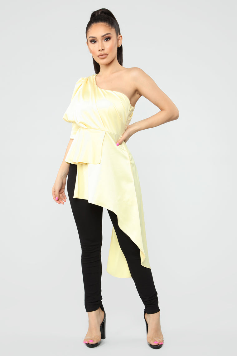 Trend Setter Top - Yellow