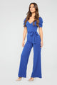 In It For Looks Jumpsuit - Royal