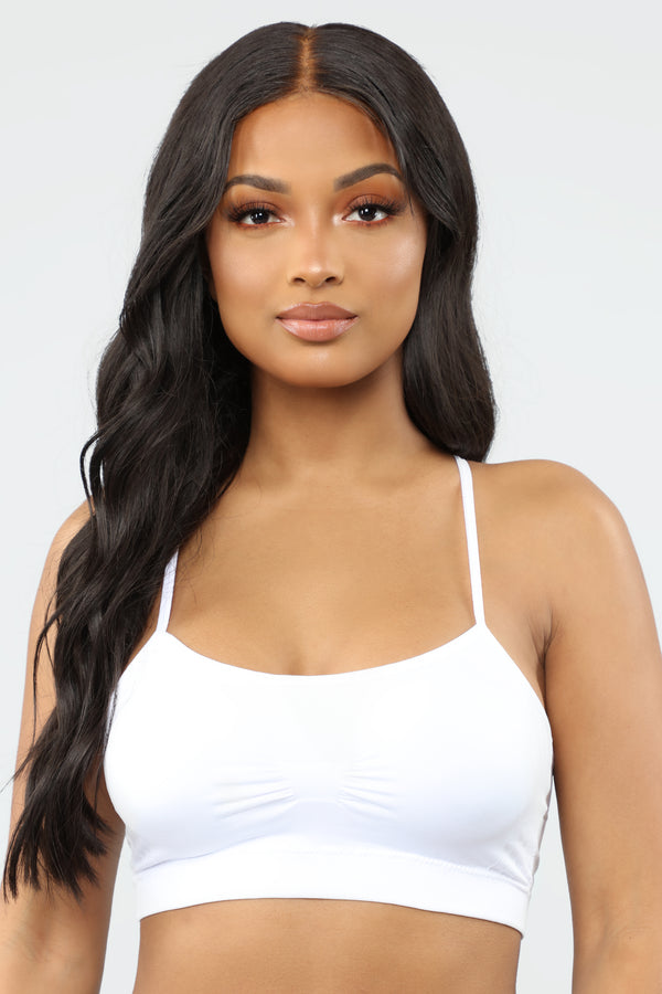 1bb223ee1ad Every Single Day Bralette - White
