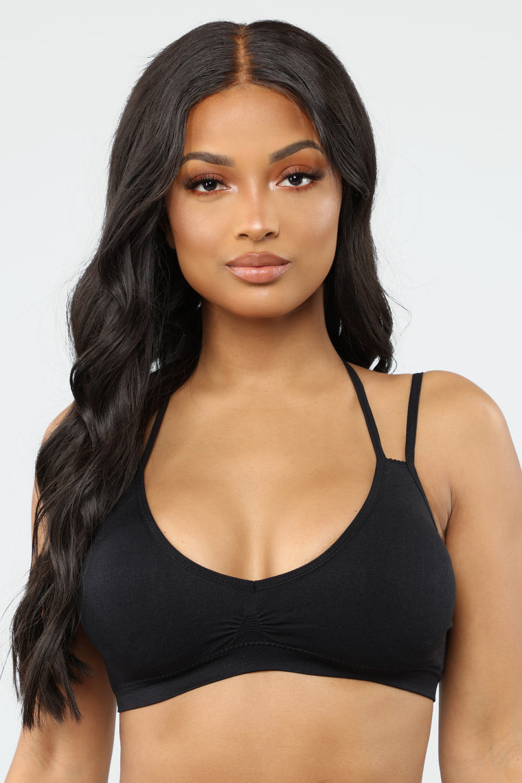 Almost Daily Bralette - Black