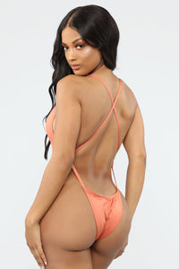 Good Influence Swimsuit - Copper Angle 3