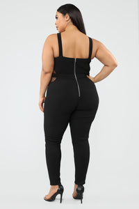 A Reason To Stay Jumpsuit - Black