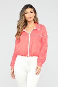 Day Dreamin' Active Jacket - Pink