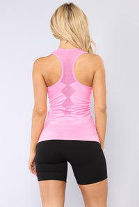 Try Me Out Seamless Active Top - Pink