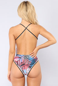 Chic Happens Swimsuit - Multi