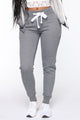 Relaxed Vibe Joggers - Heather Grey