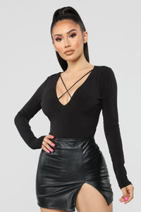 For My Love Bodysuit - Black