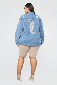 So Me Denim Jacket - Medium