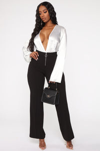 O Sweet Darling Wide Pant - Black Angle 2