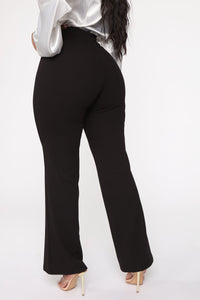 O Sweet Darling Wide Pant - Black Angle 3