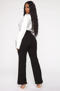 O Sweet Darling Wide Pant - Black Angle 4