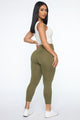 Got Your Booty Lifting Leggings - Olive