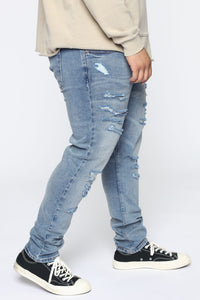 CT Skinny Jeans - Light Wash Angle 7