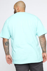 Shine Bright Short Sleeve Tee - Mint/combo Angle 6