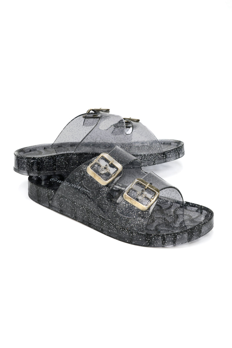 Jelly Rockin Slide - Black
