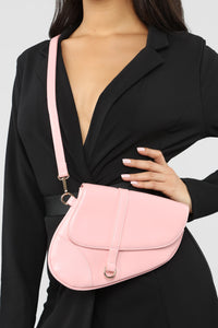 Saddle Up Crossbody - Light Pink