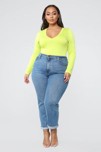 Voted Most Popular Bodysuit - Lime