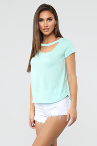 Maddy Top - Mint
