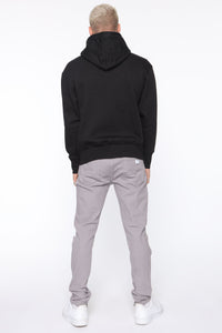 Point Of View Skinny Jeans - Grey Angle 5