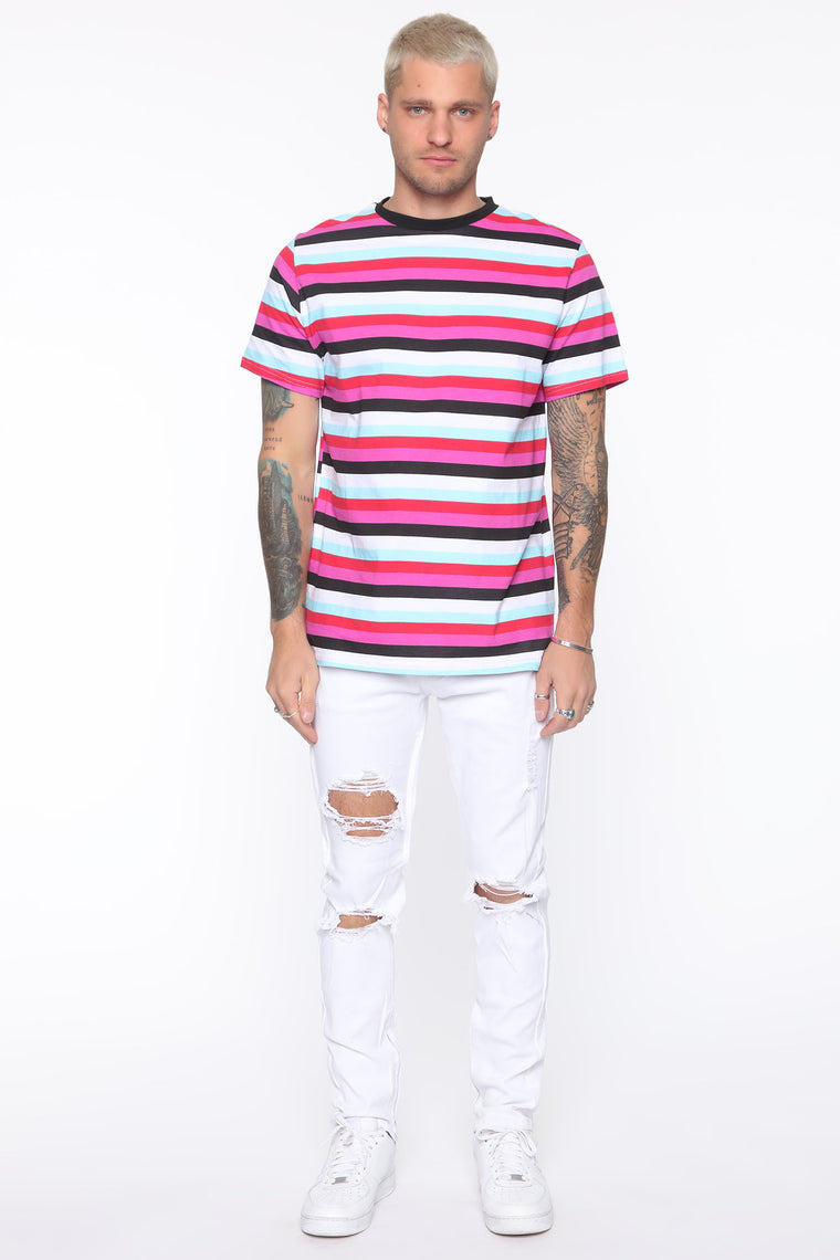 Point Of View Skinny Jeans - White