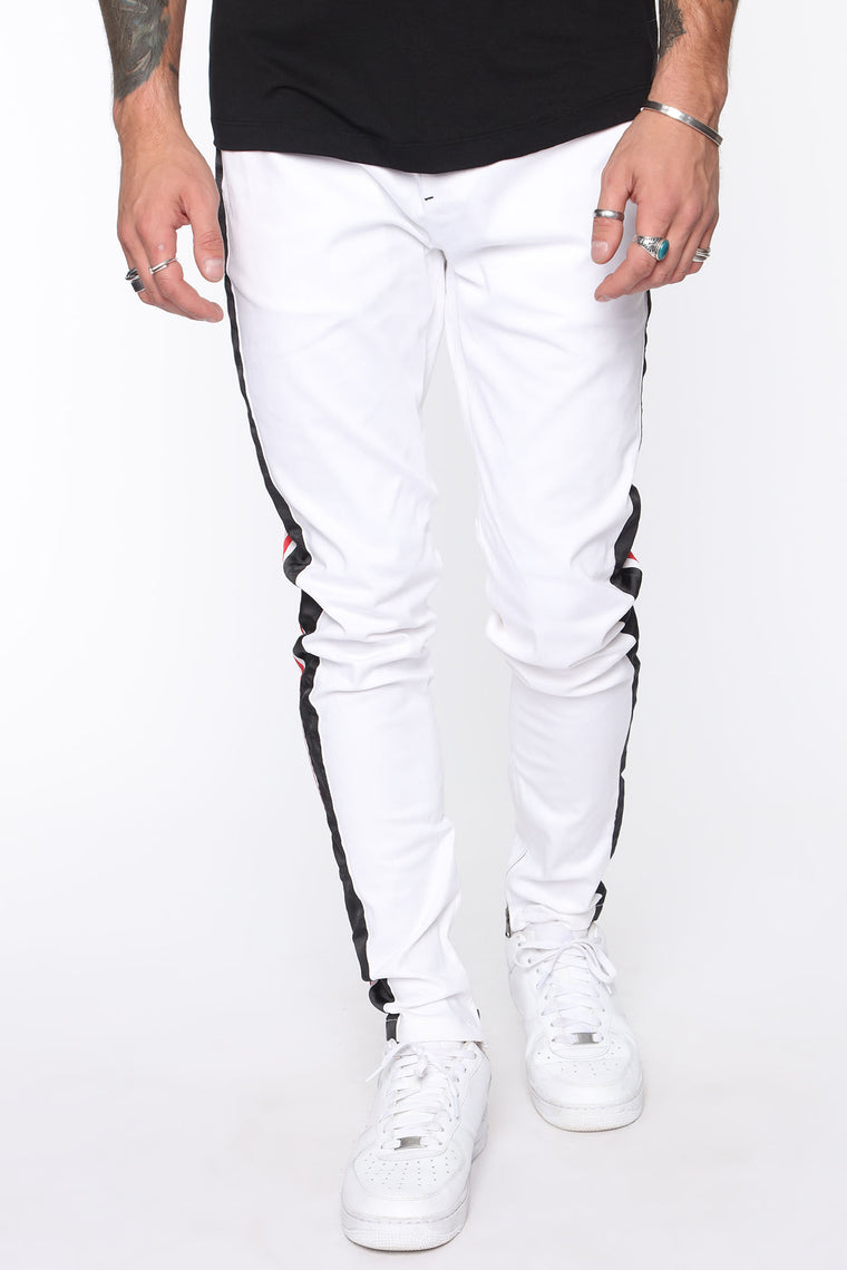 Slow and Steady Pant - White/combo