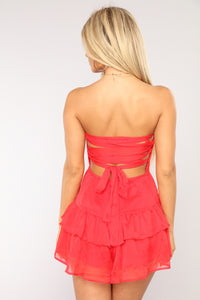 Day Dreamin' About This Romper - Red
