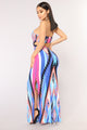 Cartagena Maxi Dress - Royal