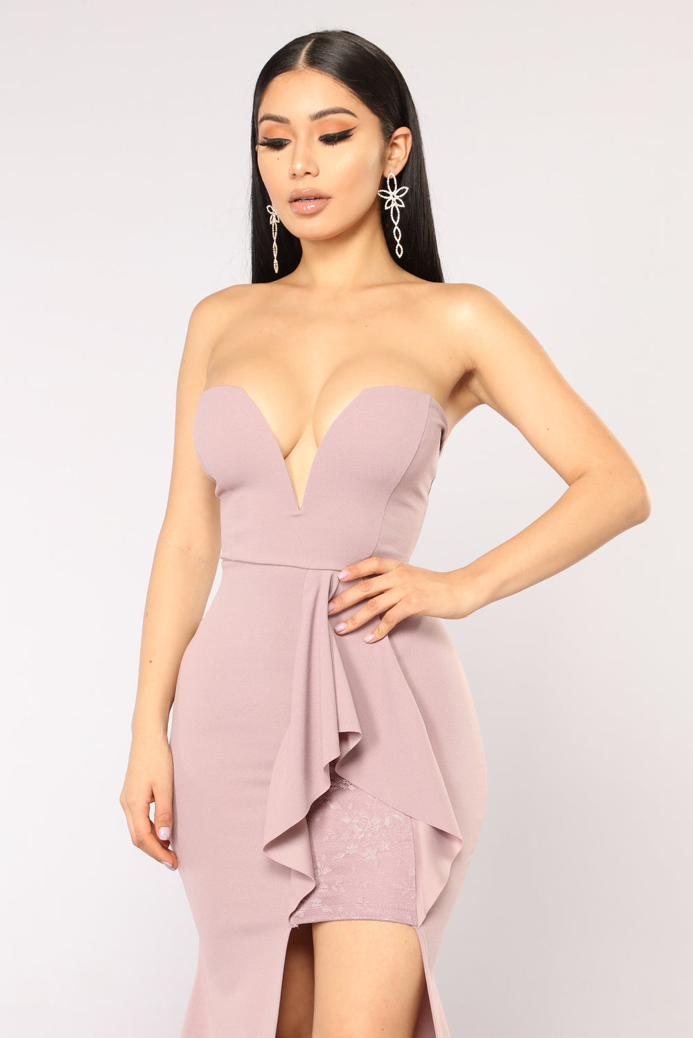 Midnight Kiss Dress - Lavender
