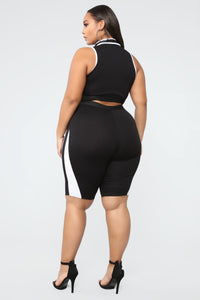 For The Hype Short Set - Black
