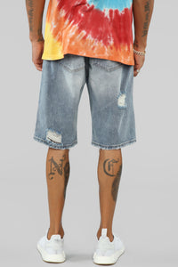Andre Denim Shorts - LightWash