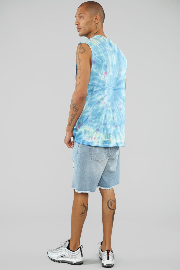 Summer Tour Sleeveless Tank Top - Multi