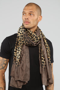 Spotted Scarf - Olive
