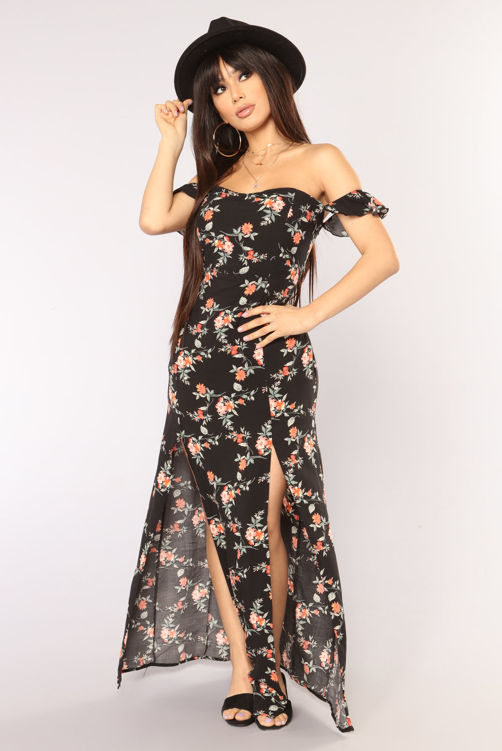 Plant Your Own Garden Dress - Black