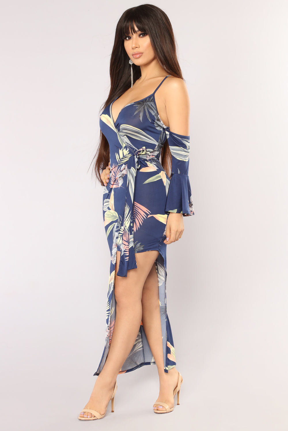 Vacation Bound Maxi Dress - Navy