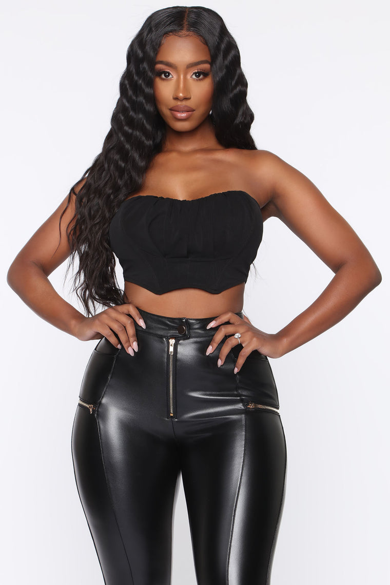 Meet Me In Sevilla Corset Top - Black