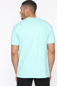 Shine Bright Short Sleeve Tee - Mint/combo Angle 3