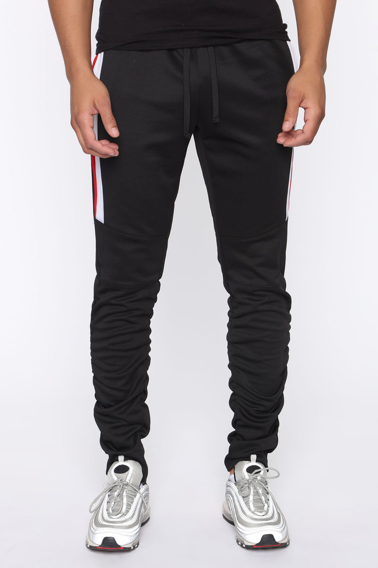 How To Be A Stunner Track Pants - Black/combo