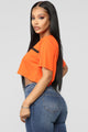 Limited Edition Crop Top - Orange