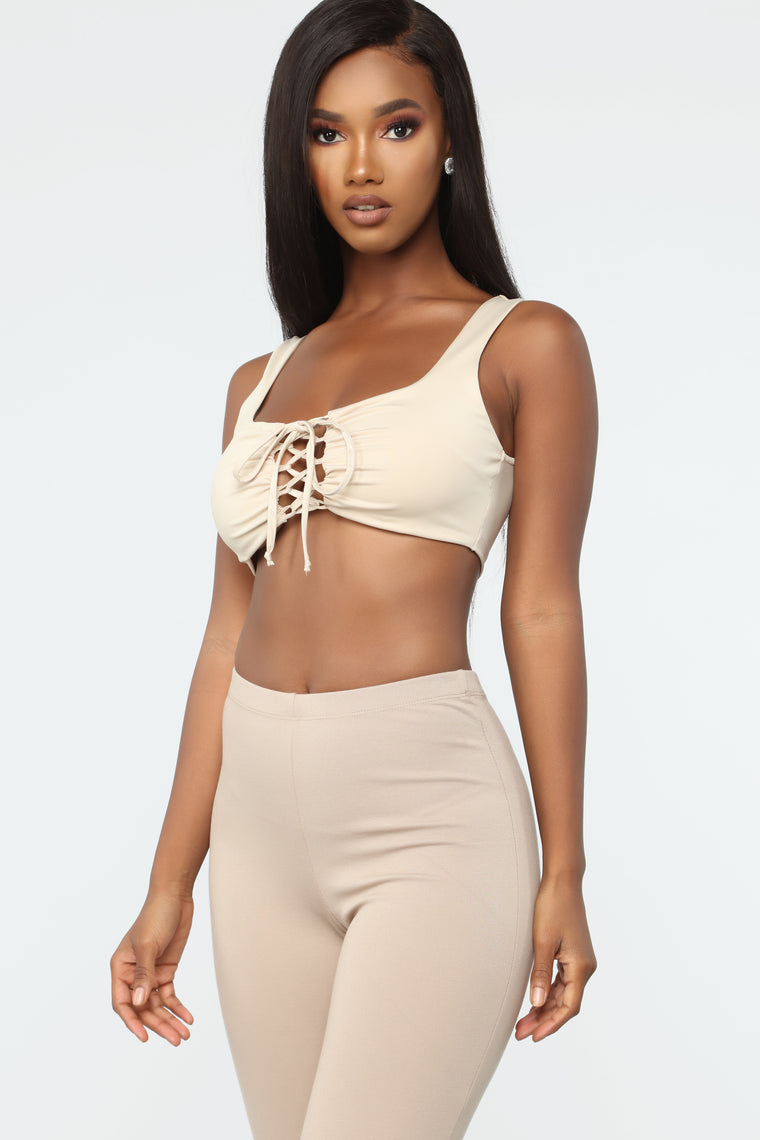 Romantic Mood Top - Taupe