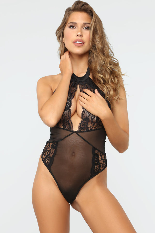f99eb35b860 Truth Hurts Lace Teddy - Black