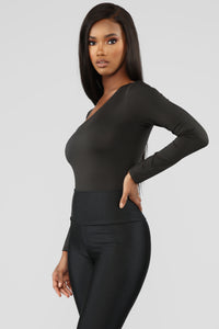 In The End Bodysuit - Black