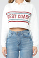 West Coast Rugby Top - Off White