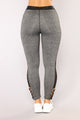 Different Kind Of Love Leggings - Grey
