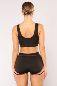High Impact Sports Bra - Black