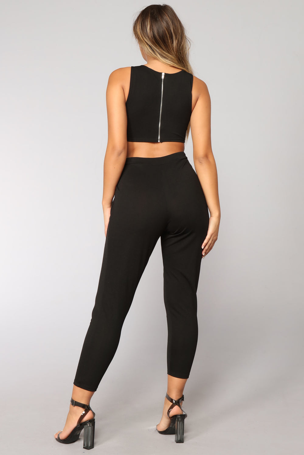 Giovanna Jumpsuit - Black