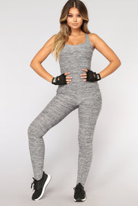 Lotus Performance Jumpsuit - Grey