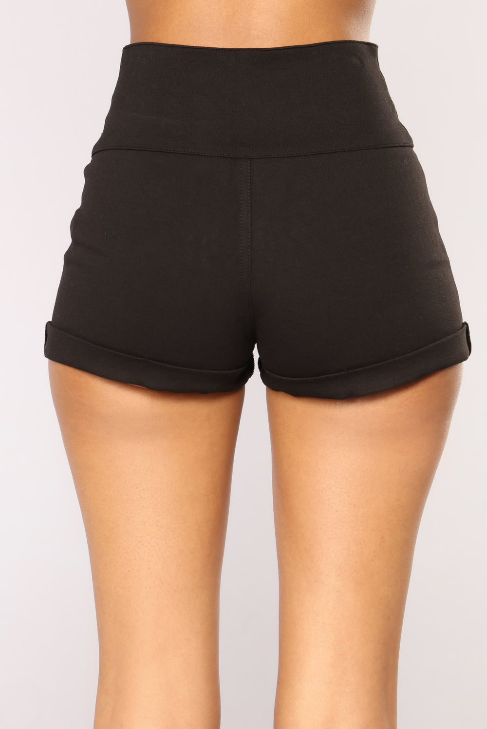 You Got It Ponte Shorts - Black
