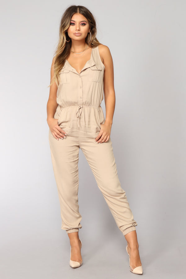7cbbf93b249 Rivalry Utility Jumpsuit - Khaki